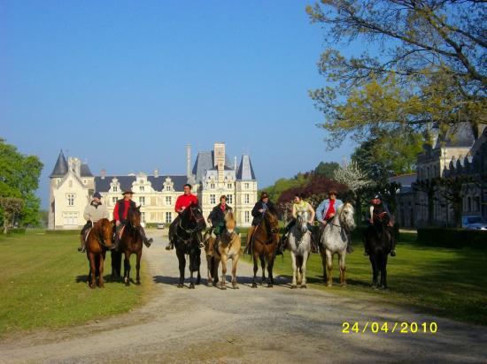 le groupe des cavaliers